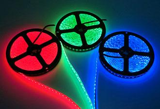 led strip light tape light rope light manufacturer in china