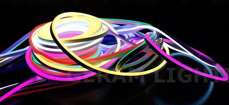 low voltage dc 12v 24v ip65 neon led strip light