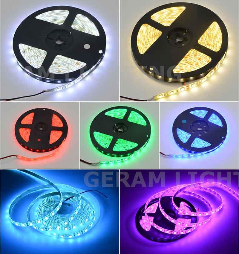 low voltage dc 12v 24v smd 5050 led strip light