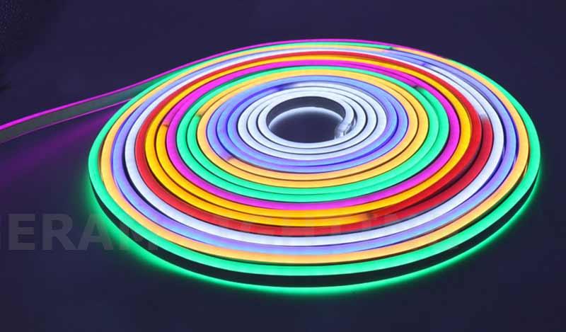 multi coloured rgb rgbw ip65 neon led strip light