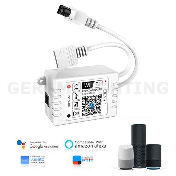 Google Assistant Siri IFTTT Amazon Alexa RGBW WIFI Controller