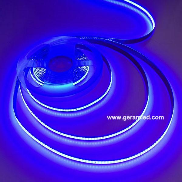 blue cob led strip light
