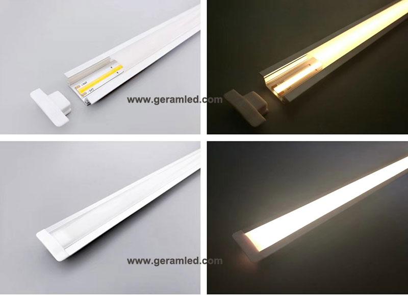 cob led strip light profile light