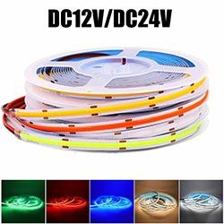 dc12v dc24v cob led strip light