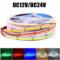 dc12v dc24v cob led tape light