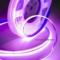 purple cob led strip light
