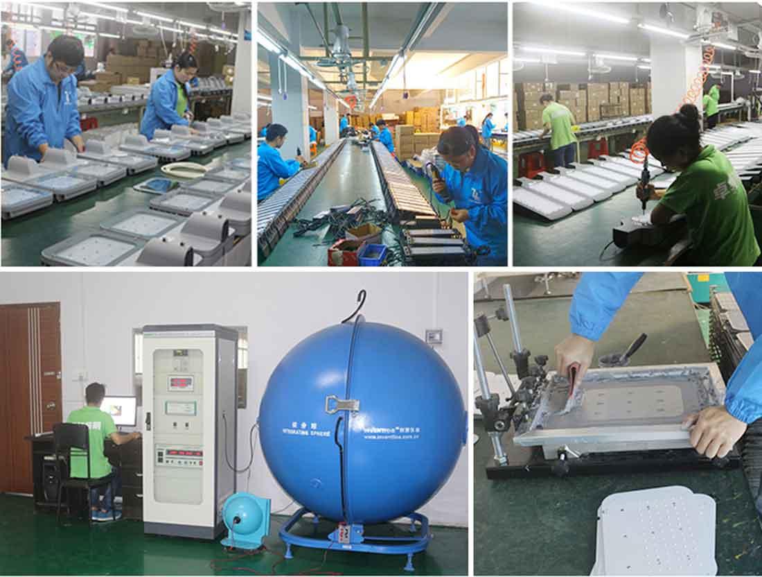 led street light manufacturing process