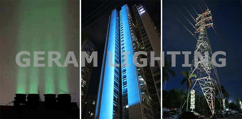narrow beam angle rgb led flood light