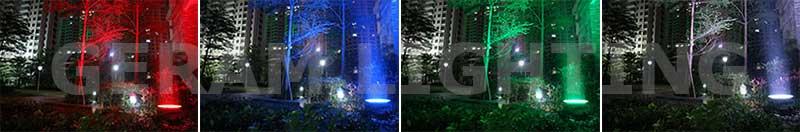 rgb flood light for trees