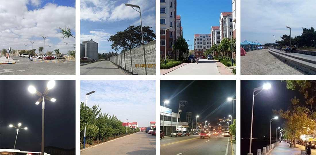 solar street light applications