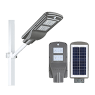 solar street light with pir sensor