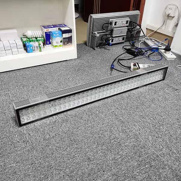 108w dmx rgb led wall washer light