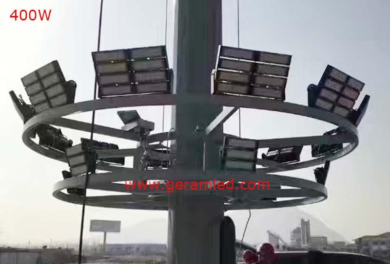 400w high mast led flood light