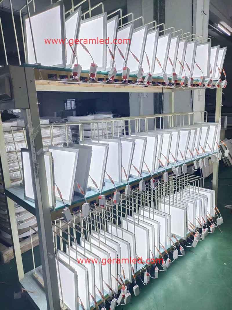 600x600 led panel light aging test