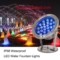 Outdoor Color Changing DMX RGB LED Water Fountain Lights